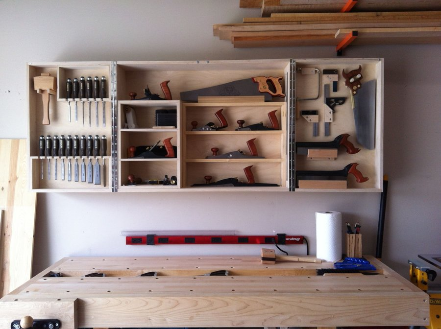 Innovative Tool Cabinet  Shop Tours  Fine Woodworking
