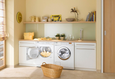 Laundry Room Ideas For Top Loaders Small Spaces Washer And Dryer