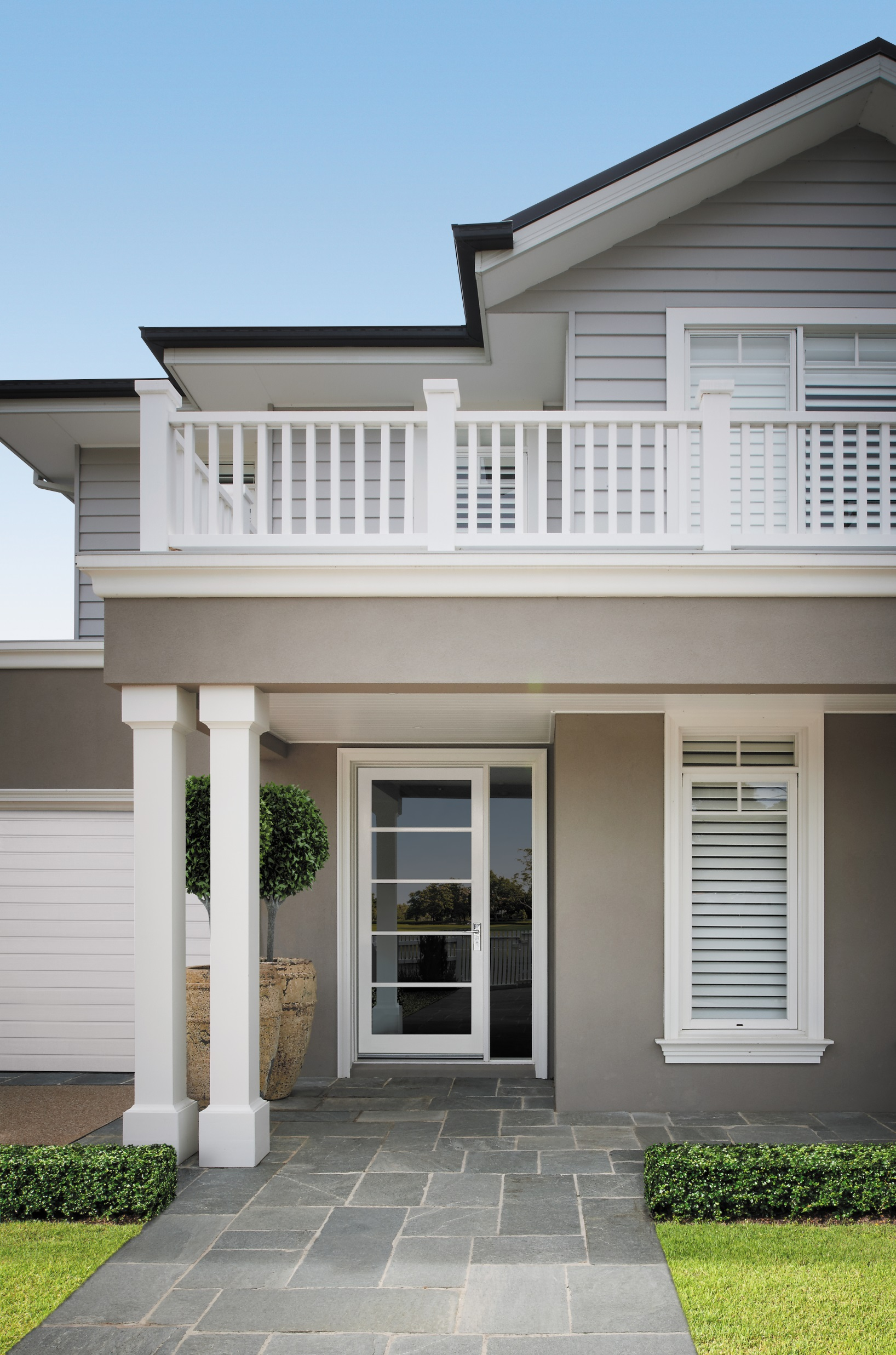 Hamptons style to australian standards build for Hampton style beach house plans