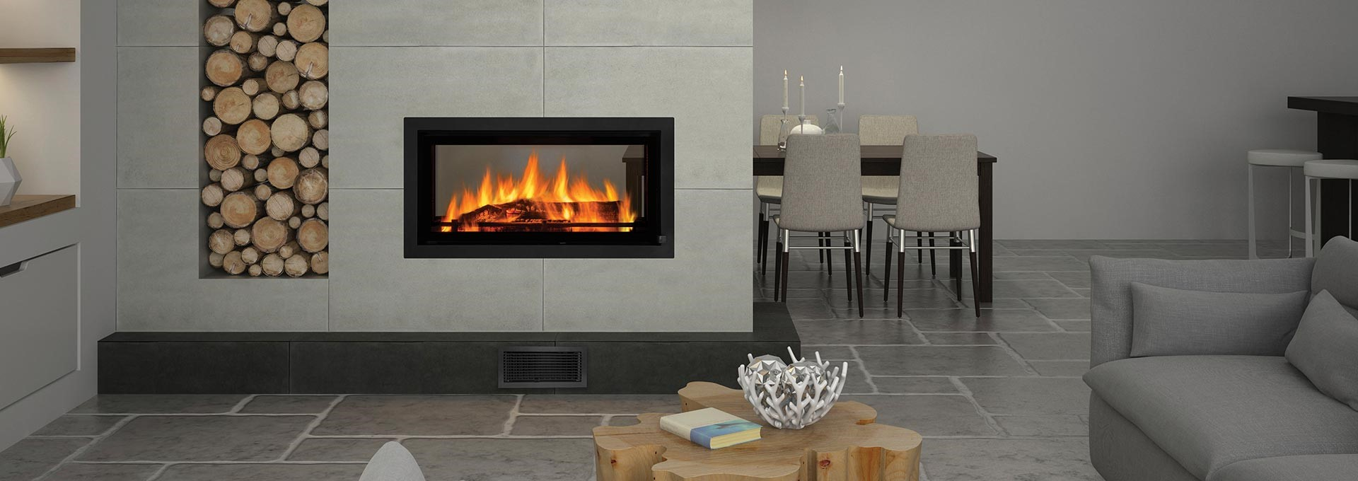 New Regency Mansfield Wood Fireplaces Proving You Can Have It All Build