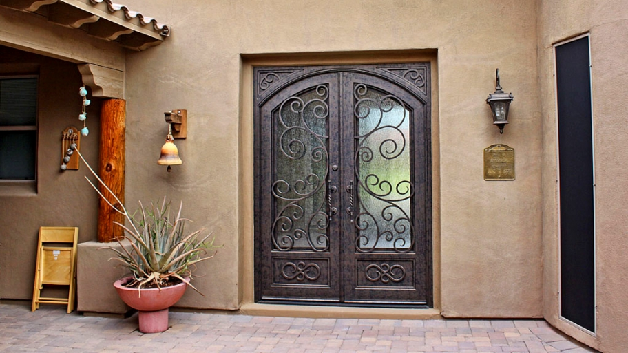 Security doors a brilliant way to enhance safety - Ways enhancing balcony ...