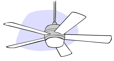 Ceiling fans build how high should ceiling fans be aloadofball Gallery