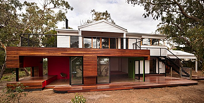 Wood cladding or weatherboard