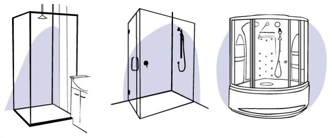 Shower screens and shower stalls