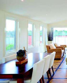 uPVC windows.