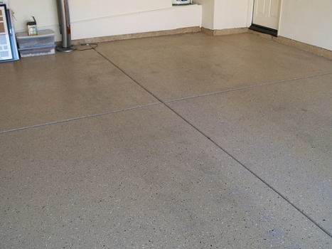 Garage and workshop floors build for Clean oil from concrete garage floor