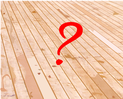 Suitability of decking timbers