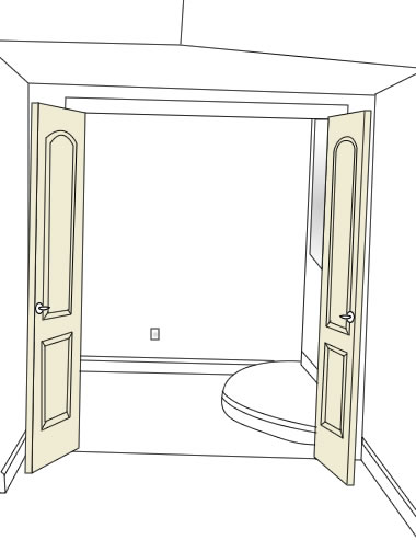 How to choose home theatre doors