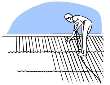How to reseal a roof