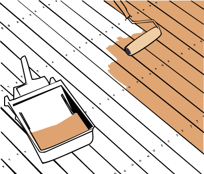 How to clean and oil a deck