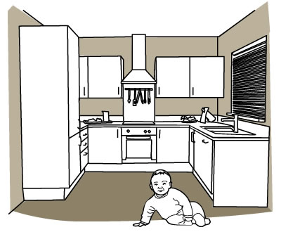 Child safe kitchen design
