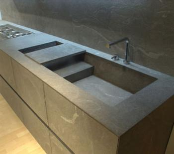 Granite Marble And Other Stone Kitchen Sinks Build