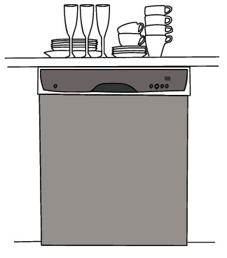 With No Sink Plumbing Diy Home. Full Size Of Countertop Dishwasher ...