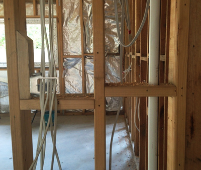 Plumbing and electrical services rough-in | BUILD