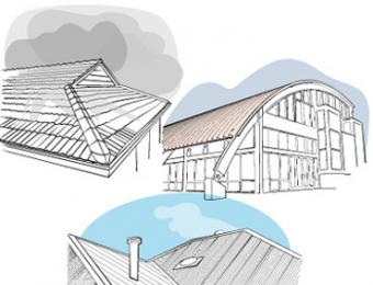 Roof colour and materials build for How to choose roofing material