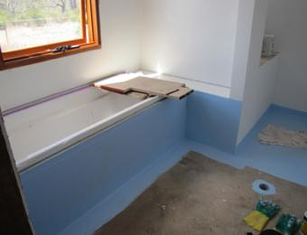 How to tile and waterproof a bathroom | BUILD