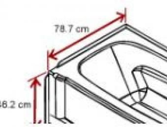Bathtub Length Width And Depth Build