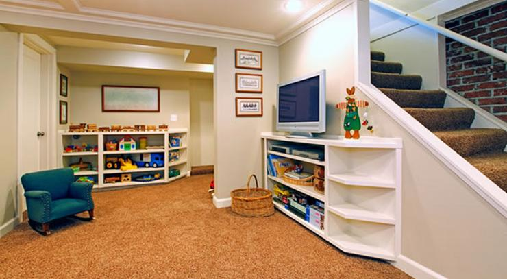 Is a basement space right for your home - Small basement decorating ideas ...
