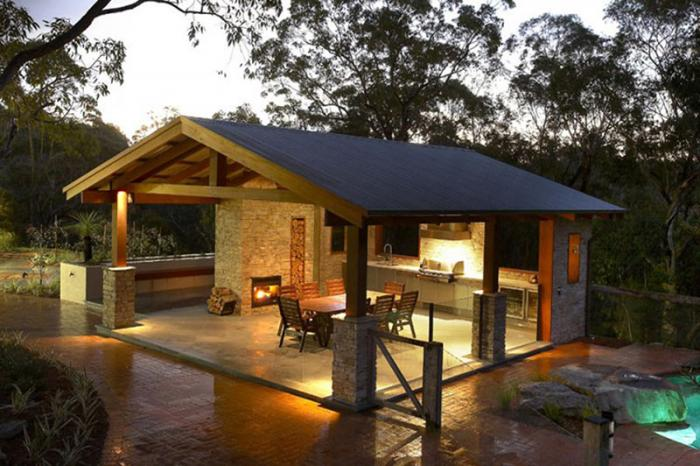 10 outdoor kitchens that look as good as they cook build for Outdoor kitchen builders near me