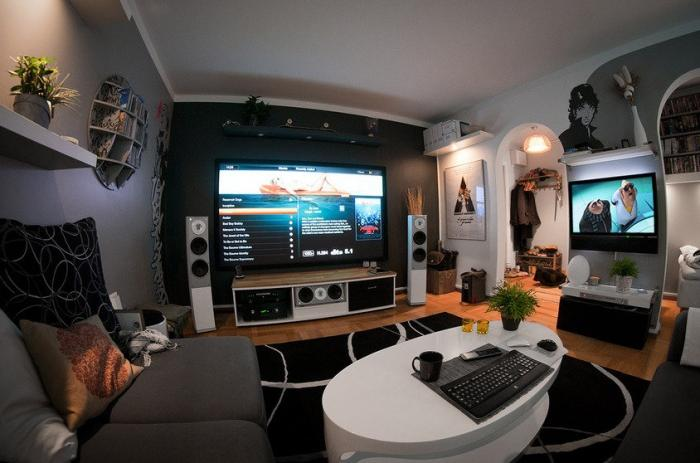 home theatre ideas for small living rooms build