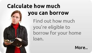 Find out how much you're eligible to borrow for your home loan.