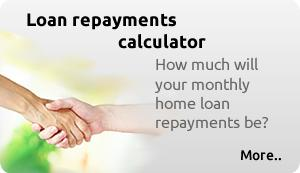 How much will your monthly home loan repayments be?
