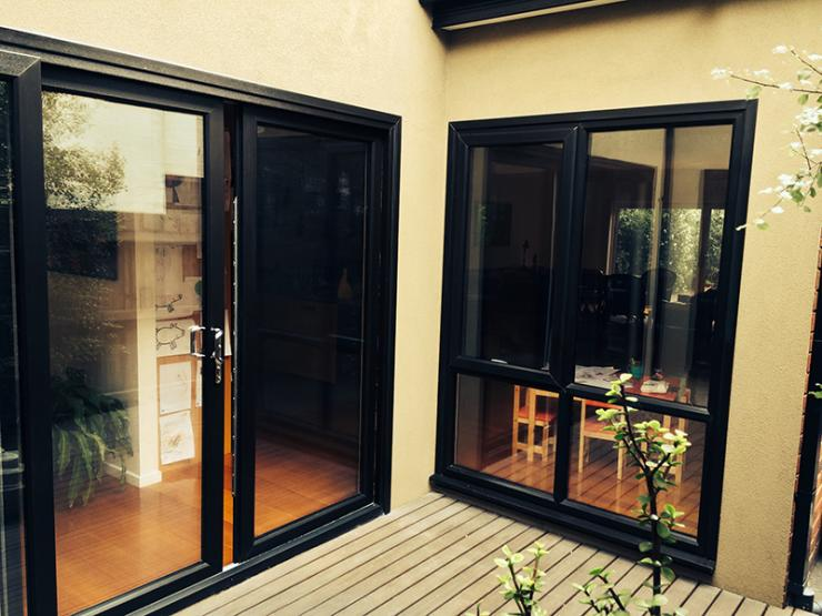 Ecostar double glazing build for Double glazed sliding patio doors