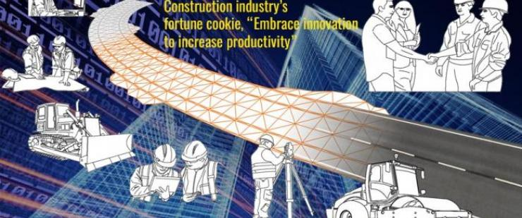 Construction industry's fortune cookie: 'Embrace innovation to increase productivity'
