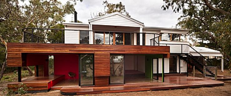 Weatherboard / wood cladding